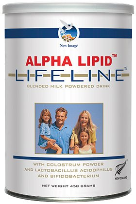 <b>Alpha Lipid™ Lifeline™</b> breakfast drink combines colostrum and probiotics for powerful immune and digestive system support to help you feel balanced, healthy and strong.