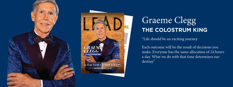 Chairman's Global Recognition: Lead Magazine Cover Story