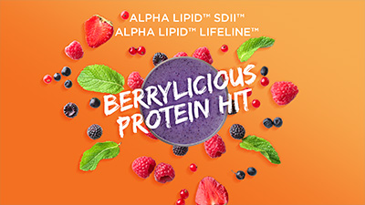 Berrylicious Protein Hit Smoothie Video Thumnail - New Image International