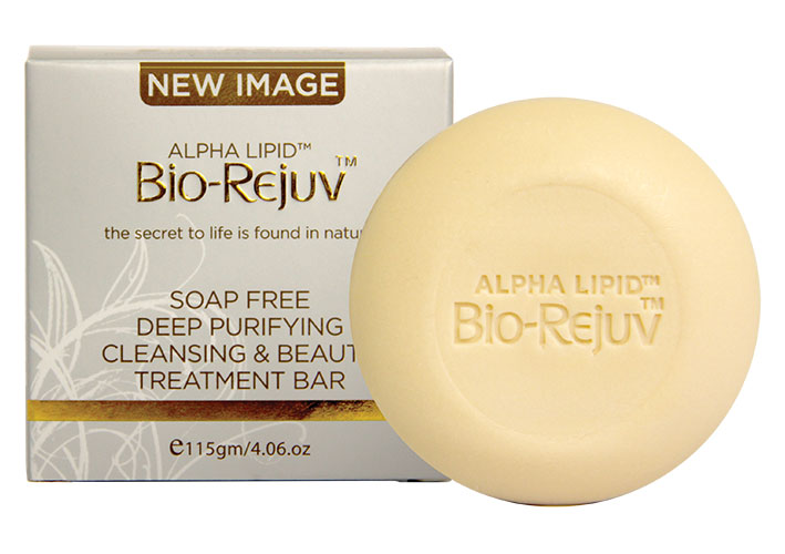 The <b>Bio Rejuv™ Deep Purifying Cleansing Bar</b> does more than wash your skin; it is a complete daily balancing and nourishing treatment.